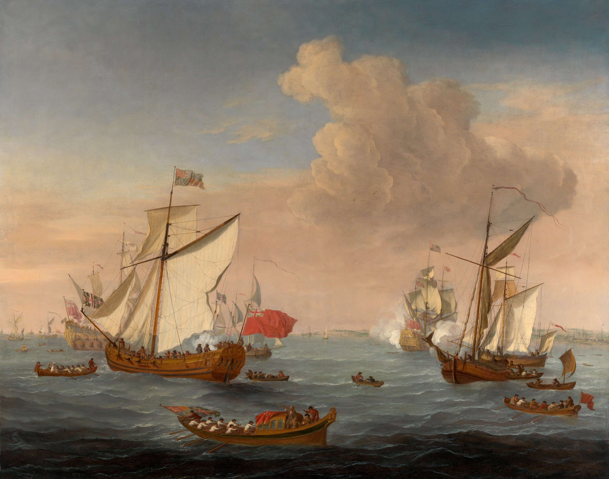 the british navy during the 17th The royal navy was a presence in nova scotia waters from almost the first days  of british colonization in the seventeenth century, as control of the territory.