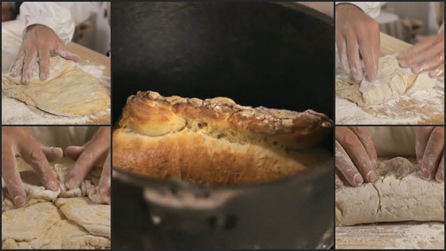Copy of No-Knead Bread Collage